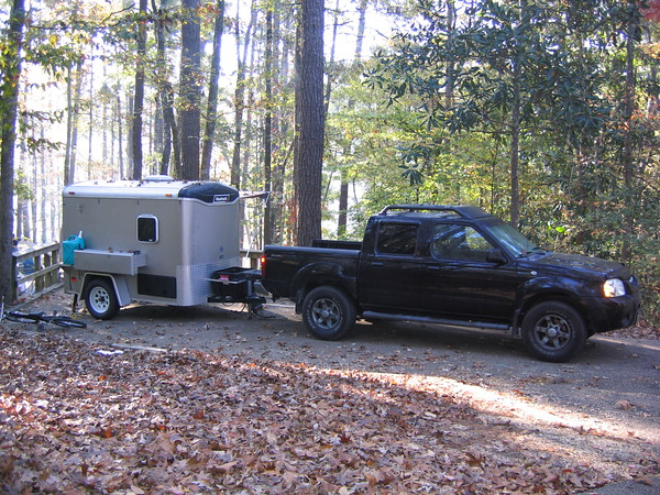 Cargo Trailer To Camp Conversion